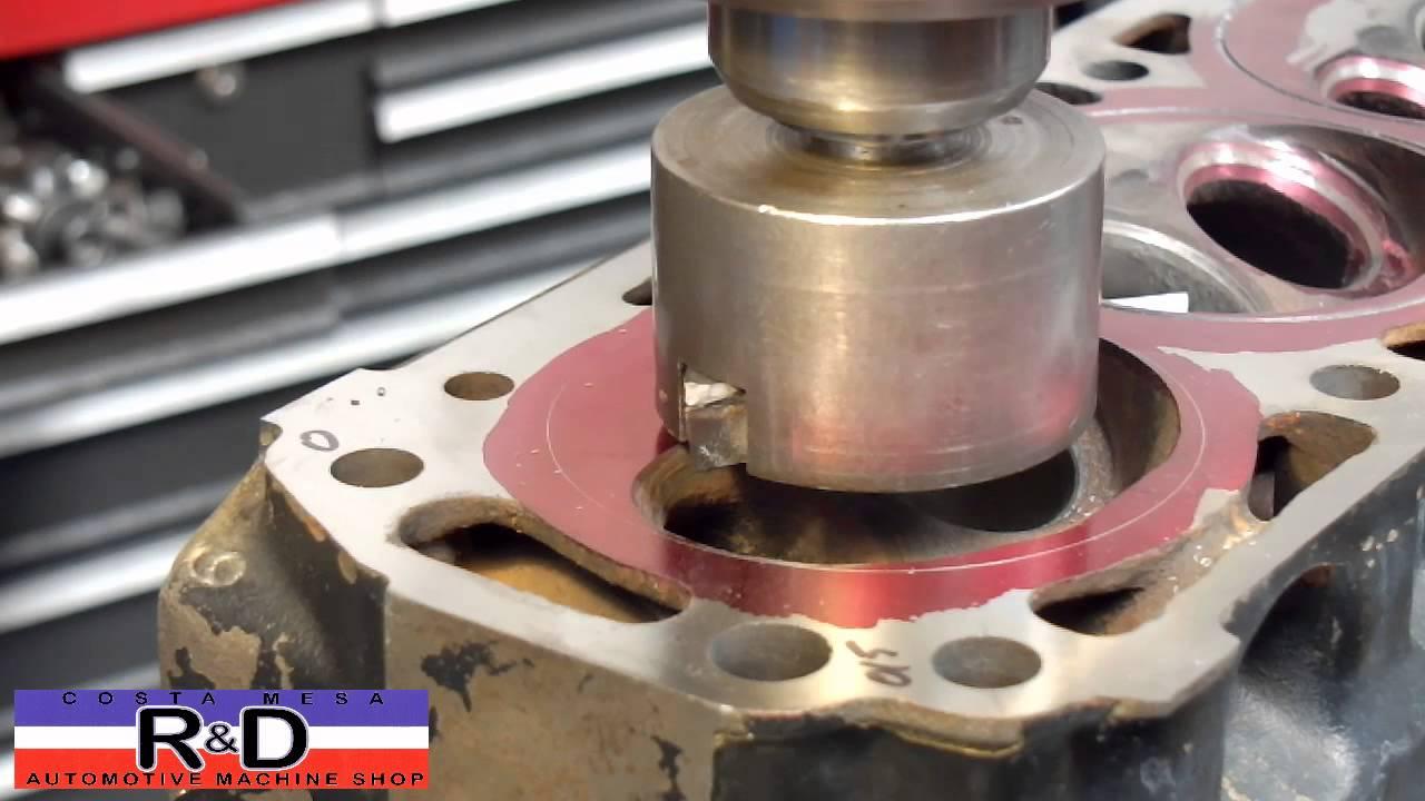 Cylinder Head Resurfacing : Opel cylinder head resurface and o ringing youtube