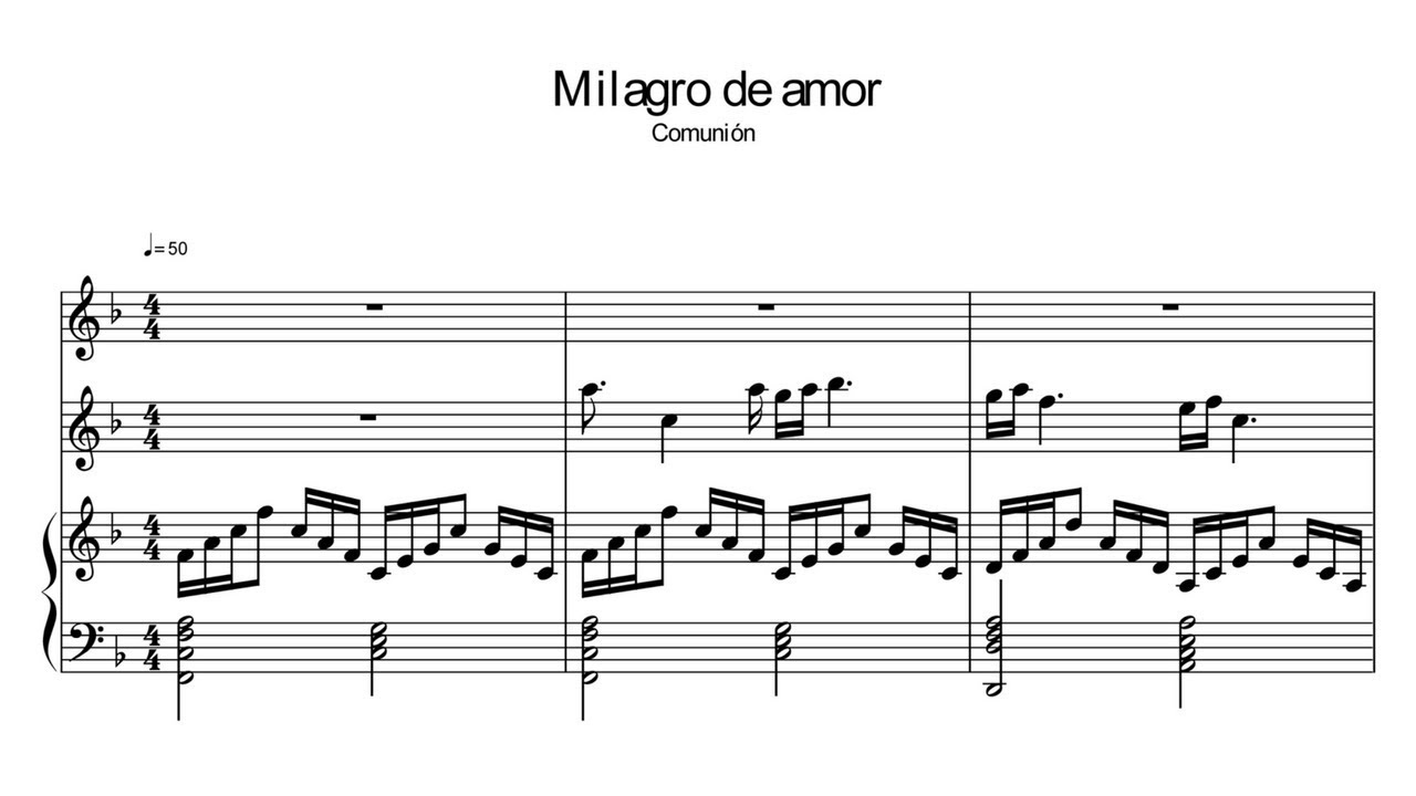 Matrimonio de Amor sheet music for Piano download free in PDF or MIDI