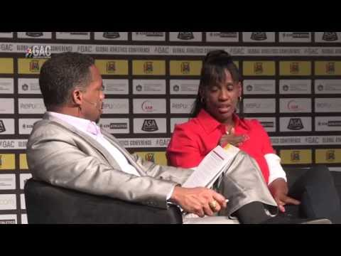 JACKIE JOYNER-KERSEE interview by ATO BOLDON_ GAC