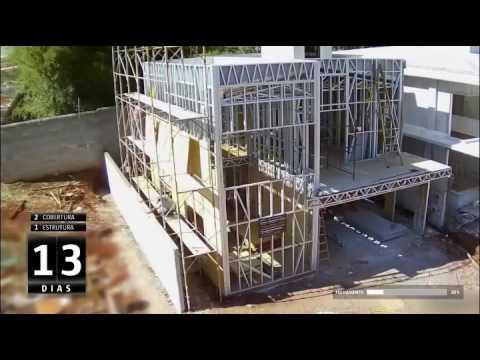 prefab luxury homes house light steel villa installation construction video