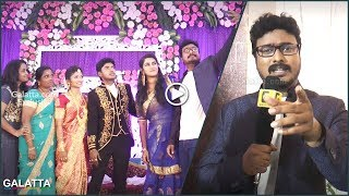 Stand up comedian Naveen wishes Sandy in Rajini style