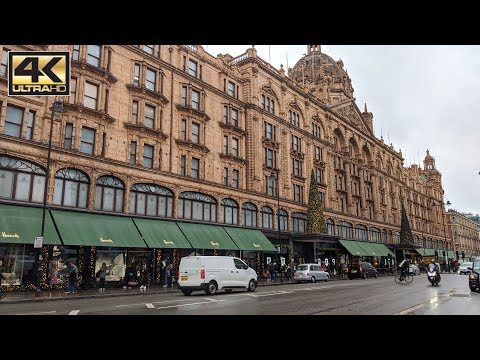 ⁴ᴷ Harrods London, Luxury Shopping For The Rich! Store Tour