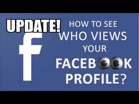 How To See Who Stalks Your Facebook Profile! (2019)