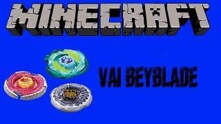 Beyblade no MINECRAFT -Como se faz!!