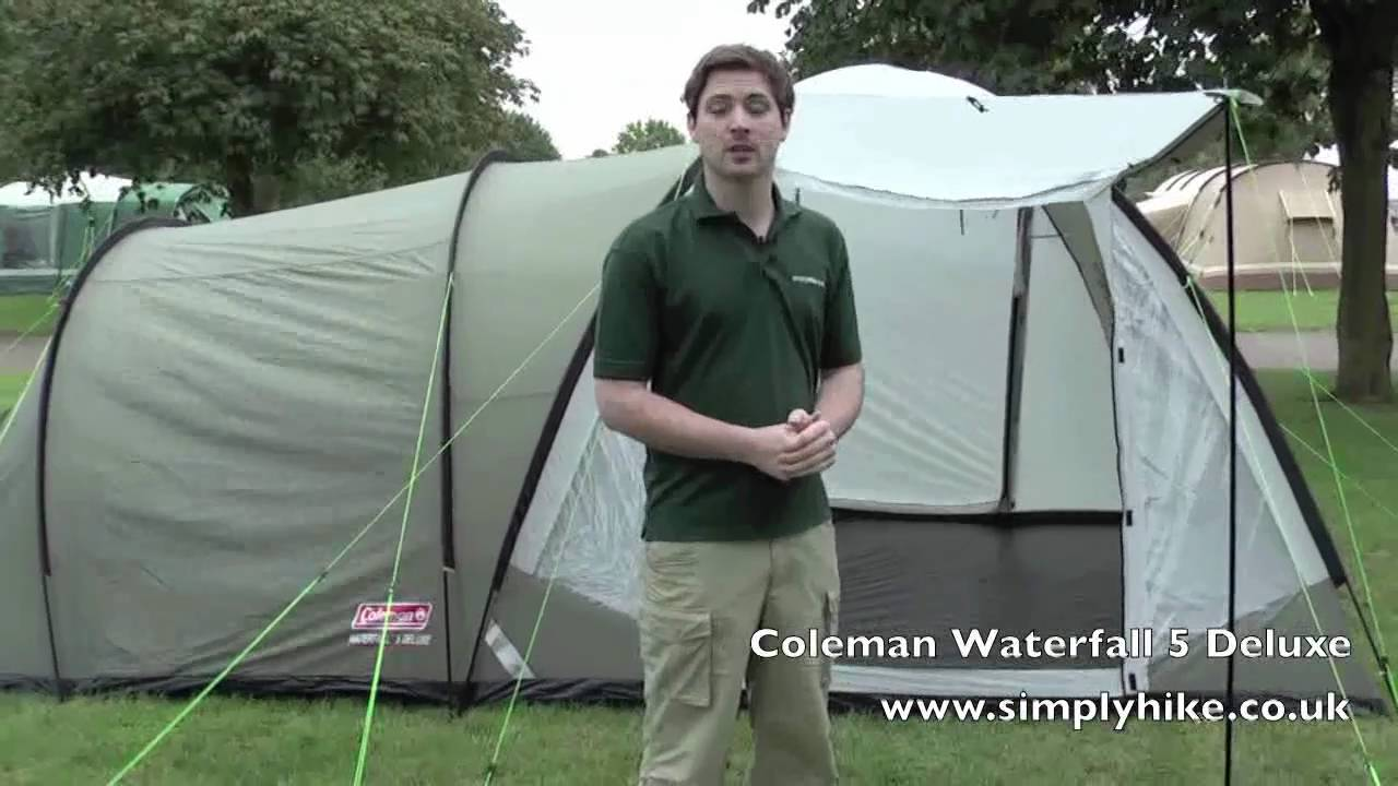 sc 1 st  YouTube & Coleman Waterfall 5 Deluxe - www.simplyhike.com - YouTube
