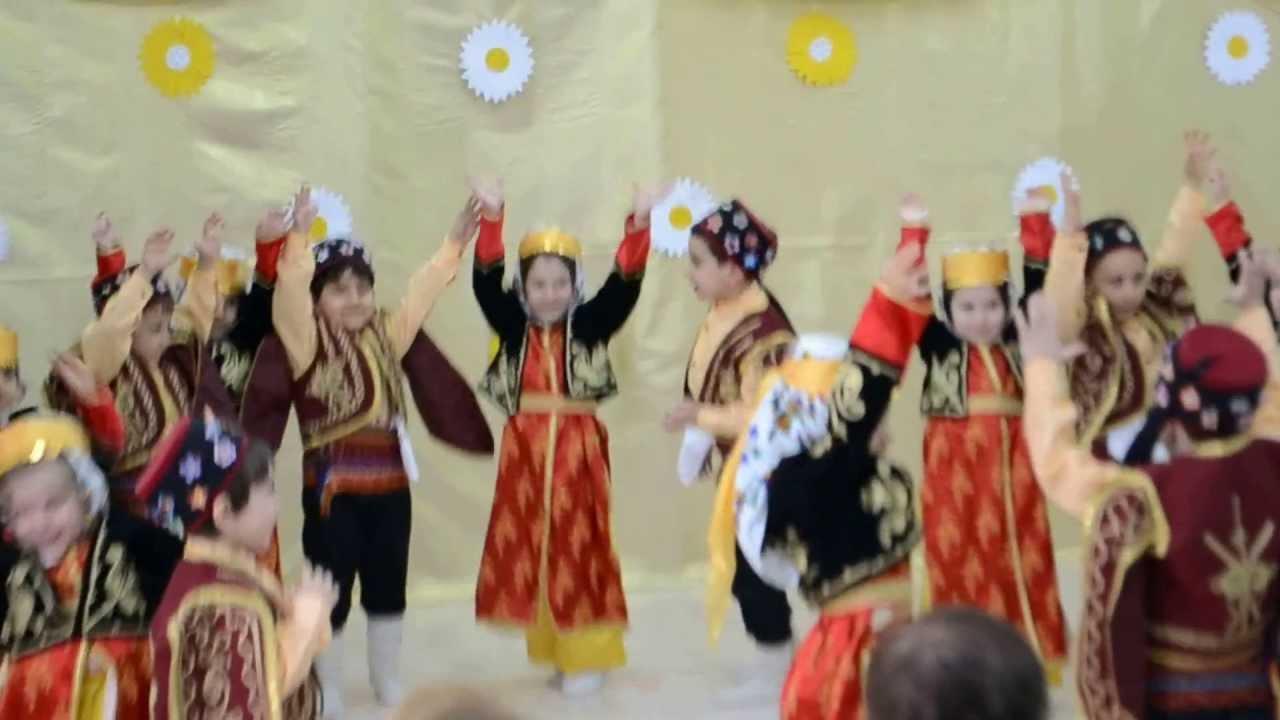 23 Nisan • Türkmen Kızı • Silifke Yöresi Halk Oyunu ...