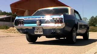 1968 Ford Mustang GT exhaust - Sound - Big block - V8