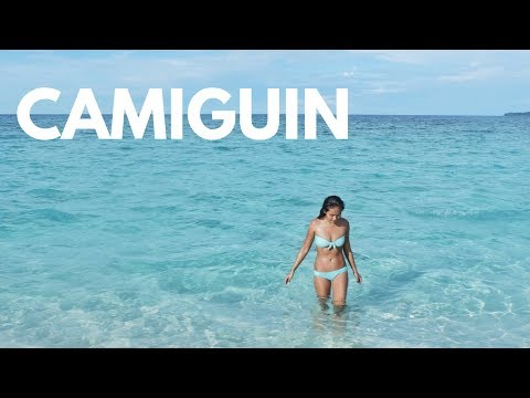 Freediving in Camiguin, Philippines