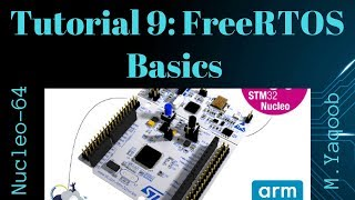 STM32-Nucleo - Keil 5 IDE with CubeMX: Tutorial 9 - FreeRTOS