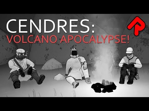 CENDRES: Volcano Apocalypse Survival Adventure | Cendres gameplay (PC student project) | ALPHA SOUP