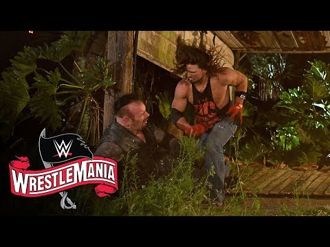 AJ Styles throws The Undertaker through graveyard fence: WrestleMania 36 (WWE Network Exclusive)