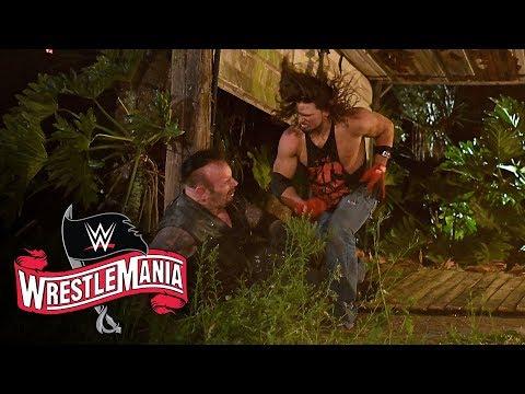 AJ Styles Throws The Undertaker Through Graveyard Fence: WrestleMania 36 (WWE Network Exclusive)