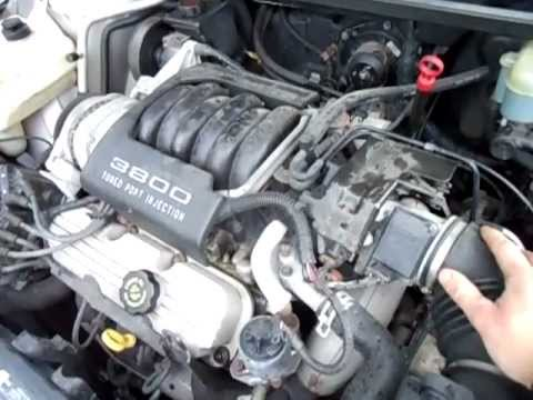 1995 buick lesabre 3 8 v6 engine knock youtube. Black Bedroom Furniture Sets. Home Design Ideas
