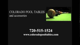 Denver Pool Tables - Your Colorado Store For New And Used Pool Tables