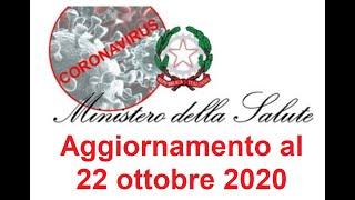 Ordinanze ministero salute - lazio/lombardia (22/10/2020)