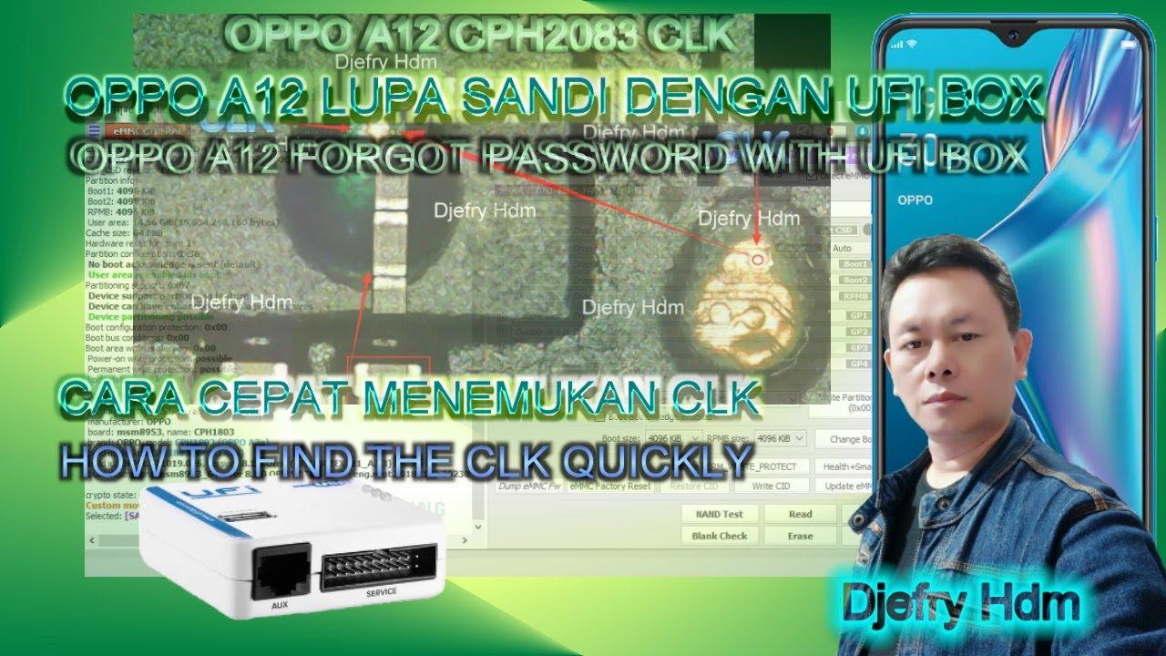 OPPO A12 CPH2083 LUPA SANDI POLA WITH UFI BOX & CARA MUDAH ...