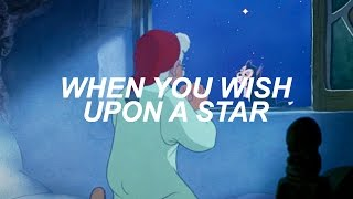 when you wish upon a star from pinocchio (lyric video)