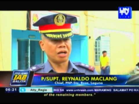 Umano'y leader ng Almayan drug group sa Sta. Rosa, Laguna naaresto sa PNP Buy-Bust operation