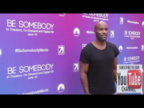 LaMonica Garrett at the Los Angeles Premiere Of Be Somebody at ArcLight Theatre in Hollywood