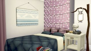 TEEN TUMBLR BEDROOM // The Sims 4: Room Build