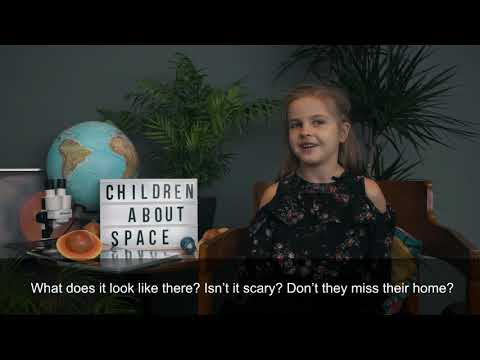 What children want to know about space