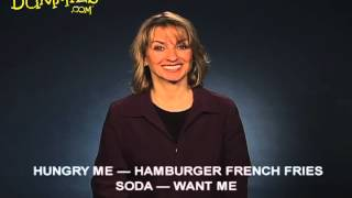 Signing about Food in American Sign Language (ASL) - For Dummies