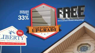 Vinyl Siding Sale | Free Fullback Foam Insulation | Springfield Missouri