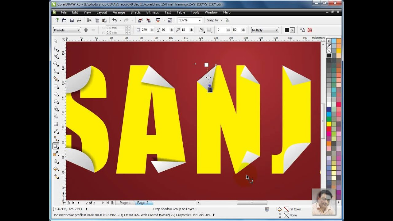 learn coreldraw hindi tutorial sticky text design style youtube rh youtube com coreldraw user guide pdf in hindi coreldraw in hindi 12 user guide pdf
