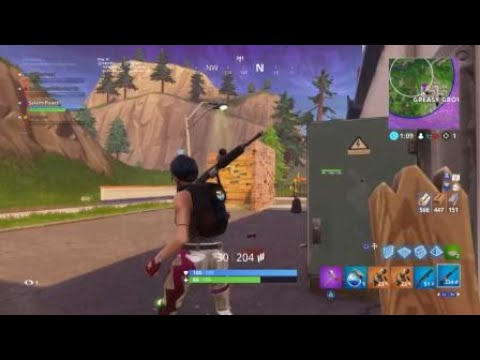 Greasy Grove Spray Over Carbide/Omega Poster Location Week 6 Challenge Fortnite