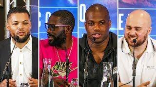 Dubois vs Gorman; Joyce vs Jennings FULL Press Conference | Frank Warren Boxing