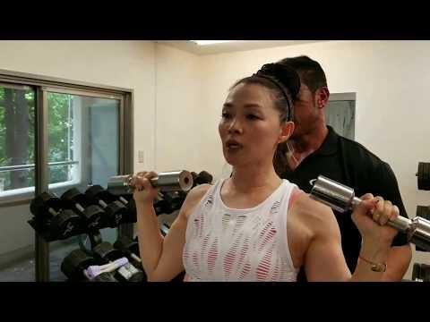 【筋トレ女子】胸・肩・腕のトレーニング