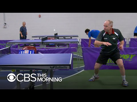 American ping pong legend hopes to add 2020 Olympics to achievements