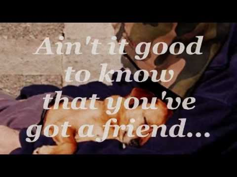 YOU'VE GOT A FRIEND (Lyrics) - The Brand New Heavies