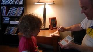 My 19 Month Old Daughter Recites The Alphabet