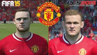 FIFA 15 vs PES 15 - Manchester United (PS4) [1080p] TRUE-HD QUALITY