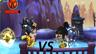 SvZ defense 2 - Multiplay - KUNOICHI vs SORCERESS - ATTACK