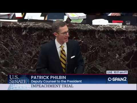 U.S. Senate: Impeachment Trial (Day 8)