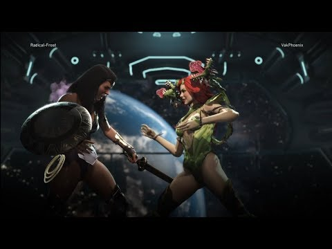 Injustice 2 Vak Phoenix (Poison Ivy) Vs Radical-Frost (Wonde