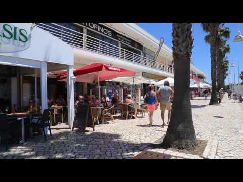 Portugal Algarve Lagos Marina / Portugal Algarve Lagos Marina