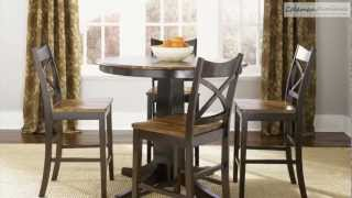 Cafe Collections Acacia Counter Height Dining Room Collection From Liberty Furniture