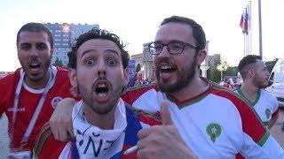 «Соу мач москитос»: иностранные болельщики шумной толпой прошагали на «Волгоград Арену»
