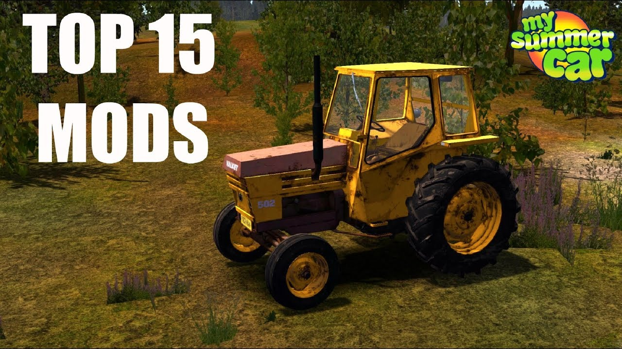 My Summer Car - And 15 Mods i always use (TOP 15 MODS)