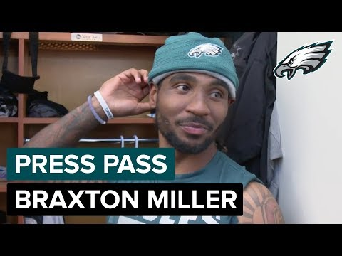 WR Braxton Miller Having Fun Playing Cam Newton In Practice | Eagles Press Pass