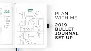 Plan With Me: 2019 Set-up