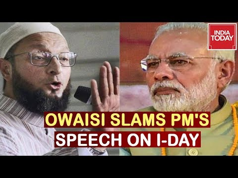 """PM Modi Is Clueless"" Owaisi Counters PM's Speech, Claims Population Is Advantage"