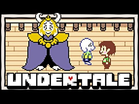 PLAYING AS CHARA! Undertale: The First Human [Demo] Fan-Made Gameplay