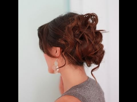 Easy Prom Hair Updo Youtube