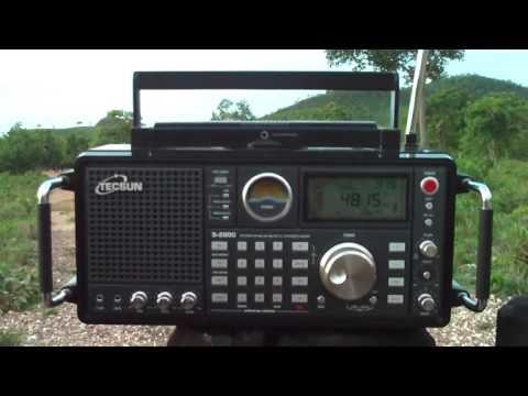 4815 kHz Radio Difusora de Londrina , (Ondas Tropicais banda de 60 metros) Londrina - PR  , Brazil