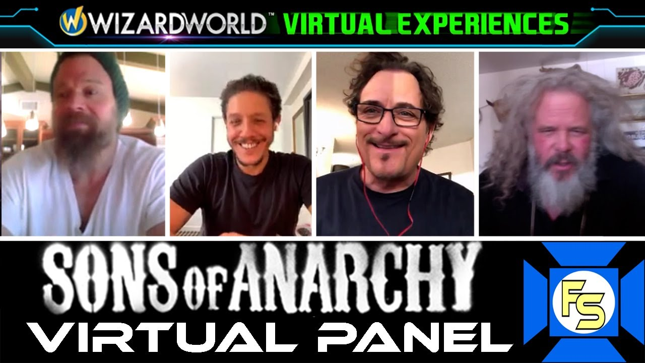 Download SONS OF ANARCHY Cast Panel - Wizard World Virtual Experiences 2020