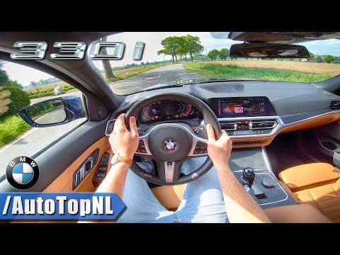 2019 BMW 3 Series G20 330i Sport Line POV Test Drive by AutoTopNL